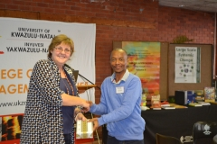 College Dean of Research and Mr Nxumalo