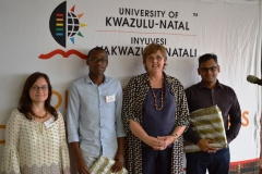 Dean of Research with  3 Minutes Thesis Competition winners