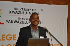 Dr Mabutho Sibanda delivering keynote address
