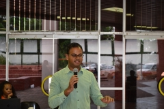 Dr Shaun Ruggunan  shea share moment about his book