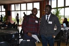 Mr Olorunfemi and Mr Sarpong
